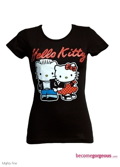 Hello Kitty Rockabilly T-shirt