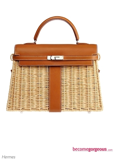 Hermes 'Kelly' Picnic Bag