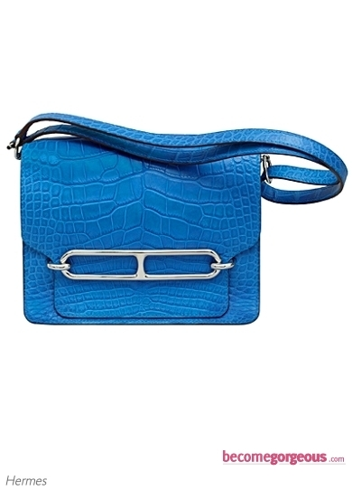 Hermes 'Roulis' Bag in Alligator
