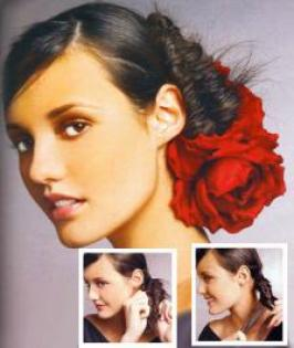 Hispanic Beauty Updo