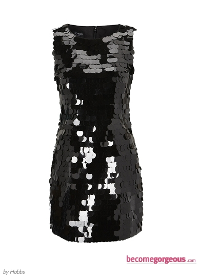 Hobbs Sequin Jasmine Dress