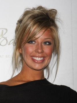 Holly Montag Messy Loose Updo Hairstyle