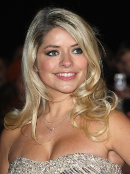 Holly Willoughby Soft Curly Hairstyle