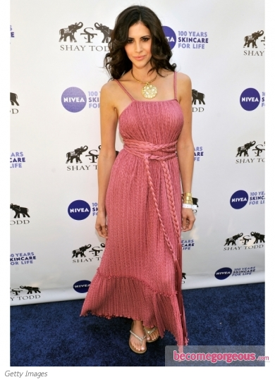 Hope Dworaczyk in Long Summer Dress