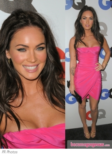 Megan Fox in Hot Pink Mini Dress