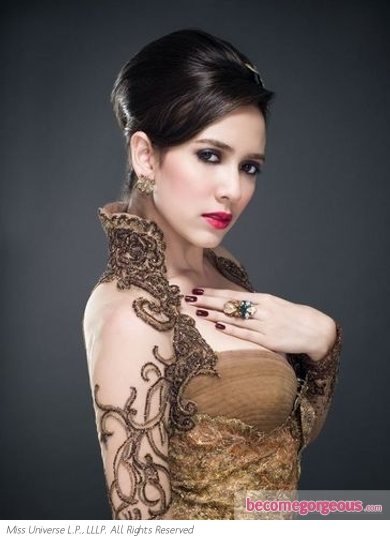 Miss Indonesia Nadine Alexandra