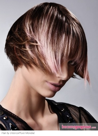 Fabulous Light Pink Hair Highlights