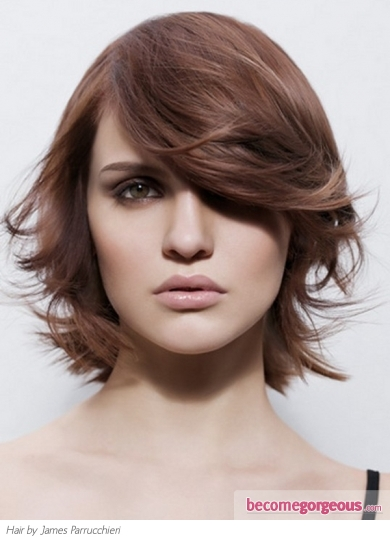 Gorgeous Medium Soft Layered Hair Style