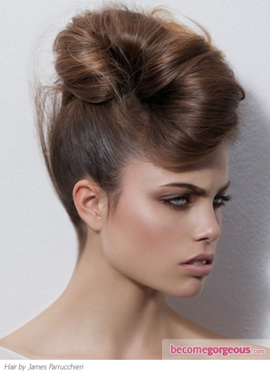 Fabulous Modern Updo Hairstyle