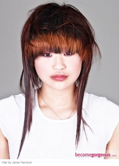Cool Long Heavy Layered Haircut