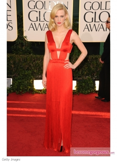 January Jones in Atelier Versace