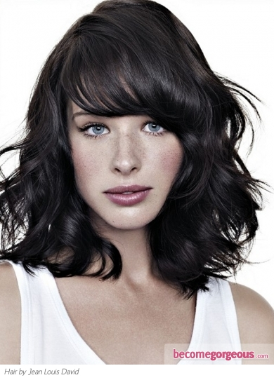 Chic Texturised Medium Haircut