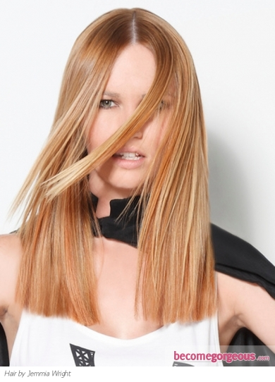 haircuts and colors for hair pictures hairstyles sleek blunt haircut 5198