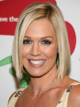Jennie Garth Smooth Bob Haircut