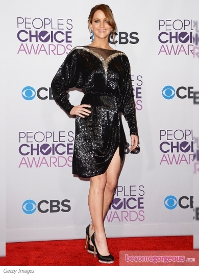 Jennifer Lawrence's Dress at 2013 People's Choice Awards