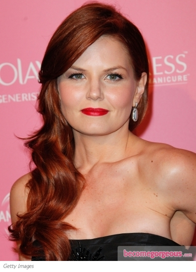 Jennifer Morrison's New Red Hair Color