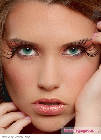 Fabulous False Lashes Eye Makeup