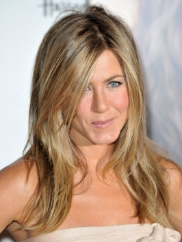 Jennifer Aniston Hairstyle at Fragrance Launch