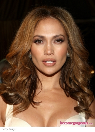 Jennifer Lopez Glam Curls Hairstyle