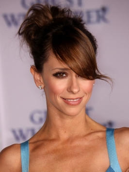 Jennifer Love Hewitt Updo with Side Bangs