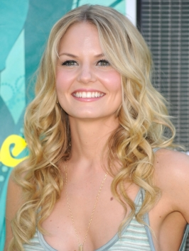 Jennifer Morrison Curly Blonde Hairstyle