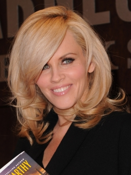 Jenny McCarthy Sexy Blown-out Hairstyle