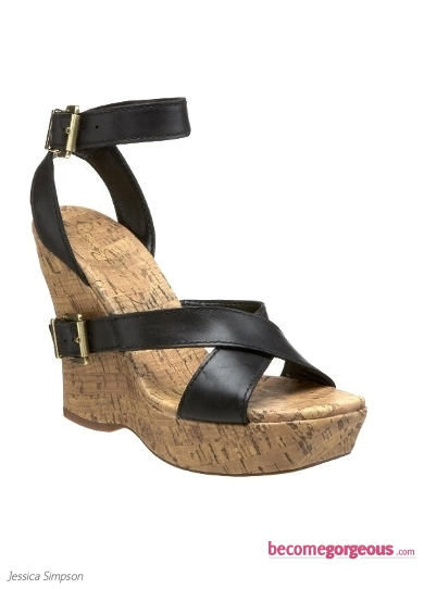 Jessica Simpson Bologna Wedge Sandals