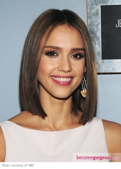 jessica alba hair highlights. Jessica Alba#39;s New Bob