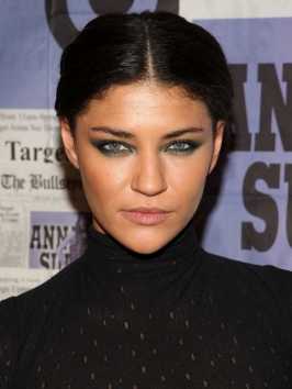 Jessica Szohr Twisted Braided Pony Hairstyle