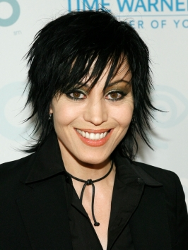 Joan Jett Messy Layered Haircut