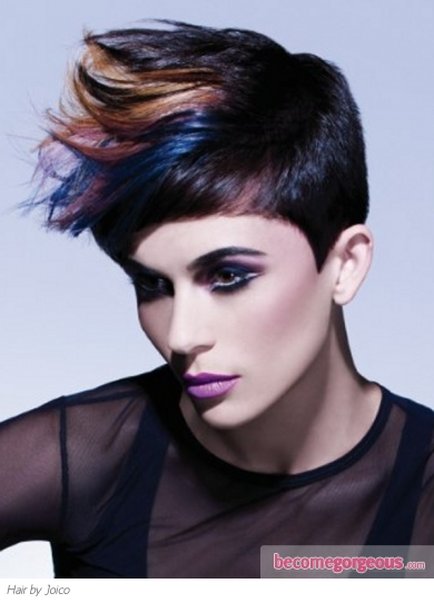 haircuts for longer hair pictures hair highlights ideas glam colorful hair 2596