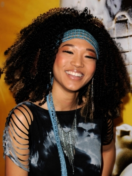 Judith Hill Big Tight Curls Hairstyle