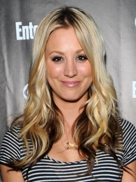 Strange Pictures Kaley Cuoco Hairstyles Kaley Cuoco Two Tone Hairstyle Short Hairstyles Gunalazisus