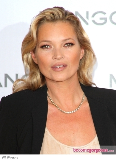 Kate Moss Soft Wavy Hairstyle