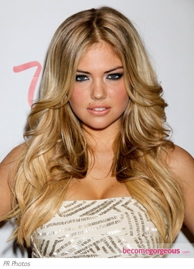 Kate Upton Sexy Bombshell Hairstyle