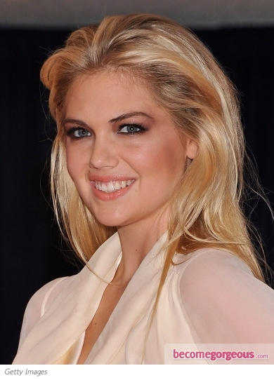 Kate Upton's Voluminous Hairstyle