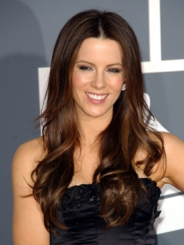 Kate Beckinsale Loose Curly Hairstyle