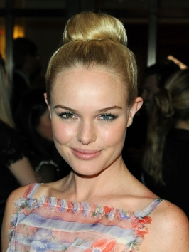 Kate Bosworth Ballerina Bun Hairstyle