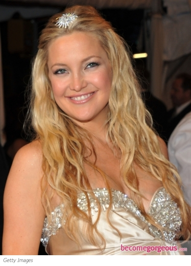 Kate Hudson Boho Chic Waves 2011 Met Gala