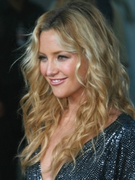 Kate Hudson Tousled Waves Hairstyle