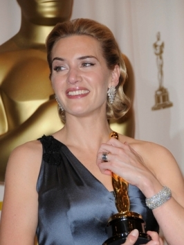 Kate Winslet wore her hairstyle softly curled and gorgeous at the 2010 Bafta Awards. To get a similar finish, curl hair in different directions to get the boho texture.
