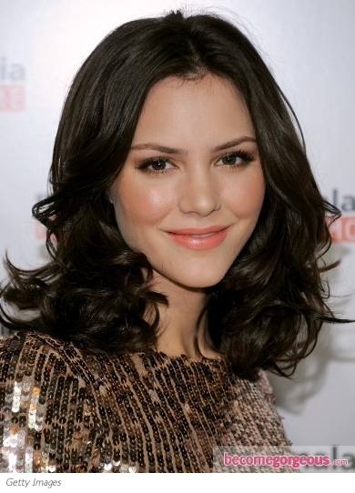 Katharine McPhee Shoulder-Length Hairstyle