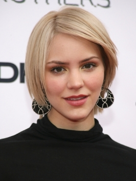 Katharine McPhee Layered Bob Hairstyle