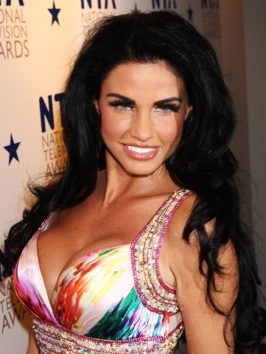 Katie Price Loose Curly Hairstyle