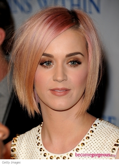 Katy Perry New Chin-Length Bob Haircut