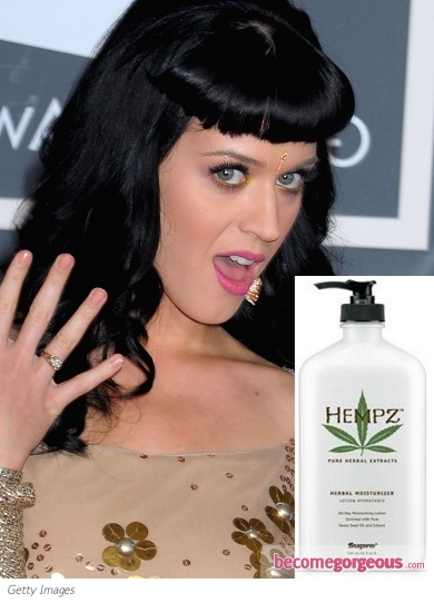 Katy Perry Favorite Beauty Product