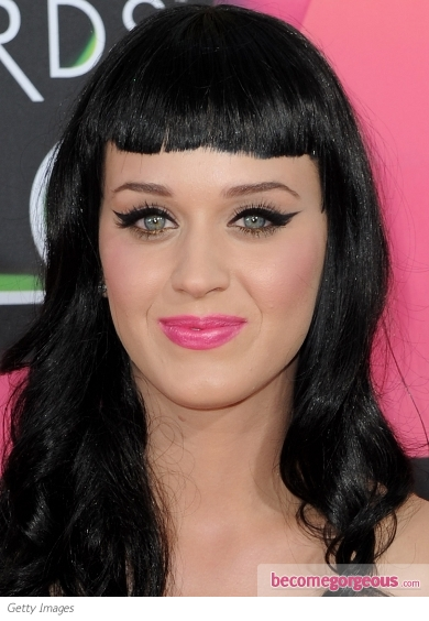 katy perry makeup. Katy Perry Cat Eyes Makeup