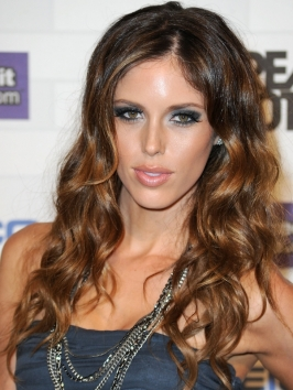 Kayla Ewell Curly Hairstyle