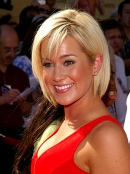 Kellie Pickler Straight Bob with Bangs