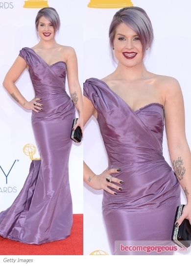 Kelly Osbourne in Zac Posan Gown